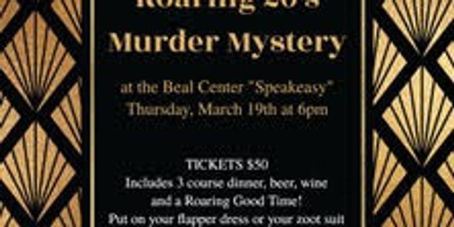 ROARING 20'S MURDER MYSTERY