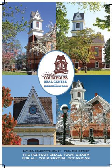 Historic Courthouse Four Seasons Poster