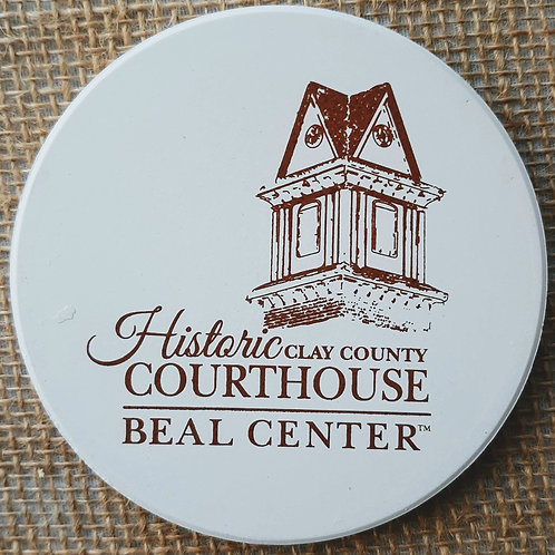 Beal Center Stonework Coaster