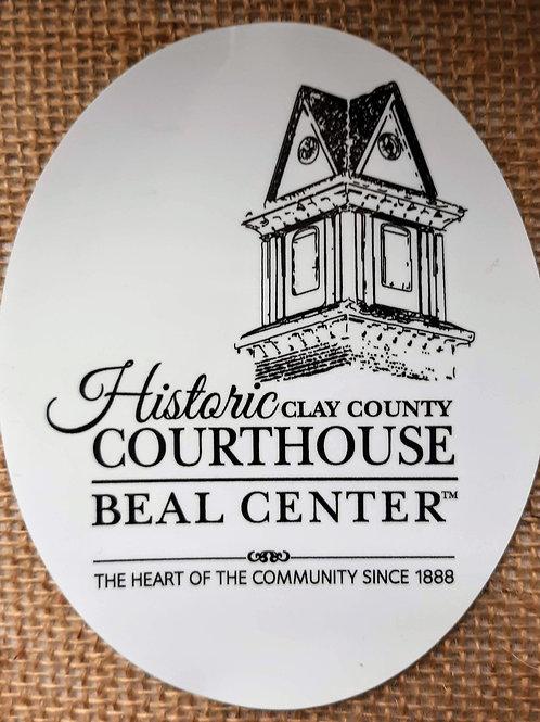 Beal Center Window/Bumper Sticker