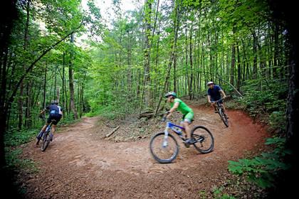 Bikers at Jack Rabbit