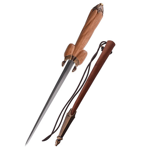 Bollock Dagger with Sheath, 16th c.