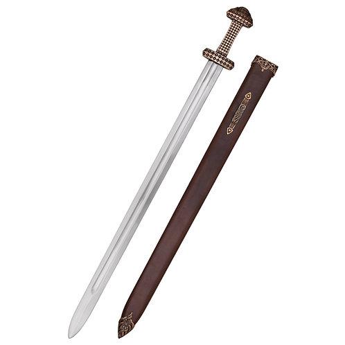 Viking Sword with Bronze Hilt Peterson Type D