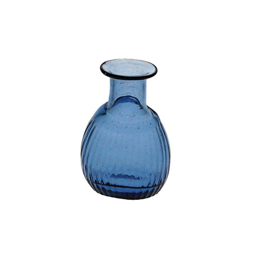 Small Blue Mary Rose Bottle