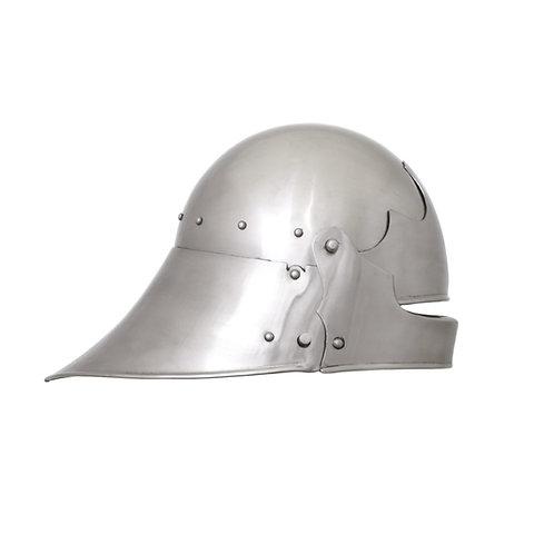 German Sallet, 1480 AD. 2 mm steel
