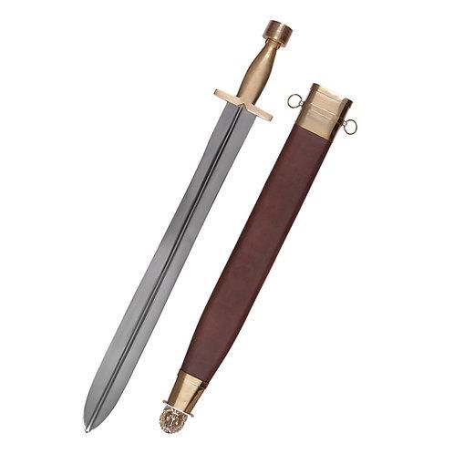 Greek Hoplite Sword with Lion scabbard