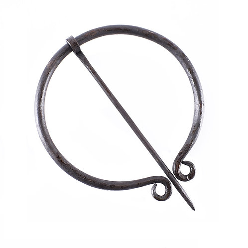 Brooch, ring-shaped, single coil