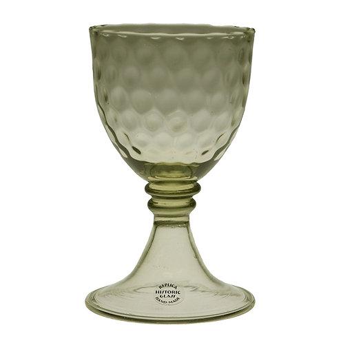 Wine glass, optic blown