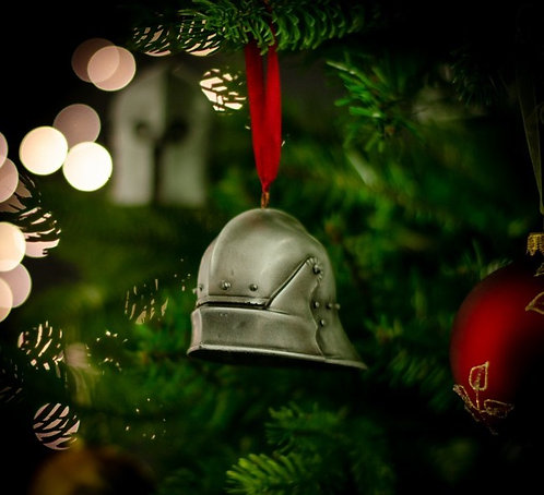 Long Tailed Sallet Christmas Bauble