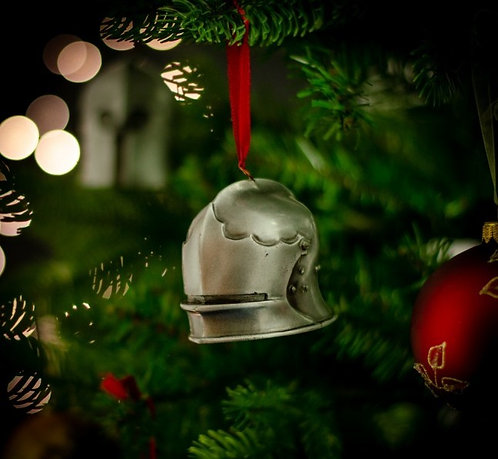 Short Tailed Sallet Christmas Bauble