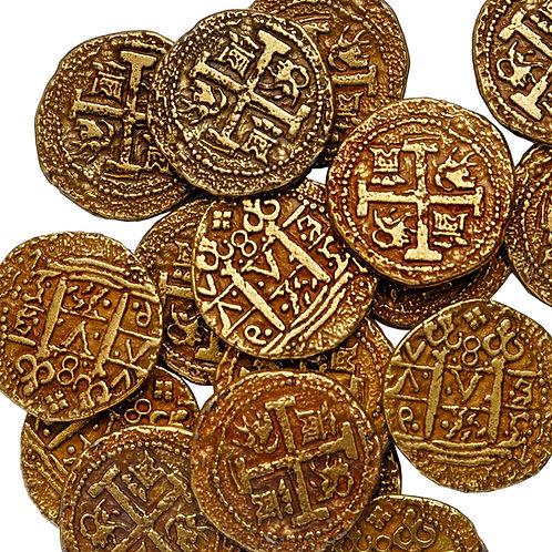 5 Golden Doubloons