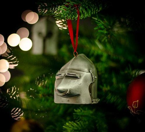 Pigface Bascinet Christmas Bauble