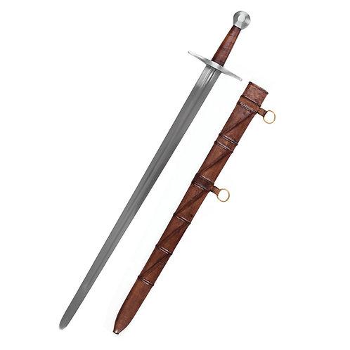 12 c. Sir William Marshal Sword w. scabbard, practical blunt