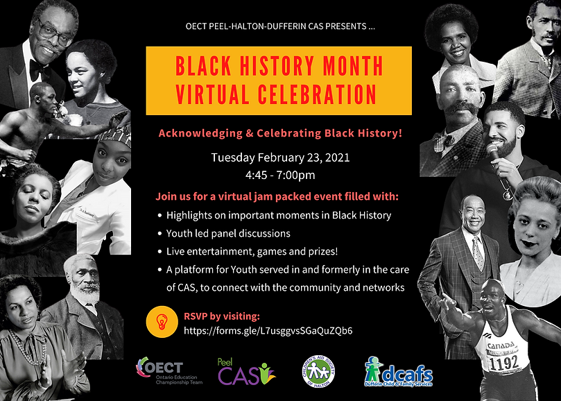 Black History Month Virtual Celebration