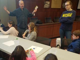 UPenn PhD Sociologist Teaching Kids Science in Free Time