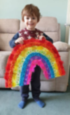 Gabe wit his Ranbow