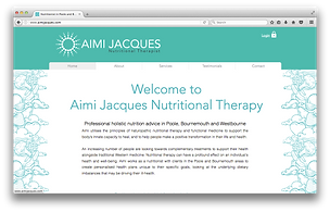 Aimi Jacques nutrtional therapy wesite