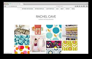 Rachel Cave Pattern Designer Website