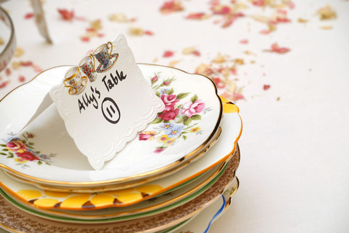 Vintage China Side Plates