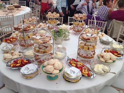 Homemade Wedding Desserts
