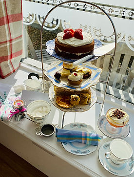 Vintage Service Afternoon Tea for One