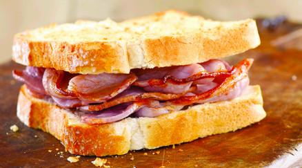 Delicious Bacon Sandwich