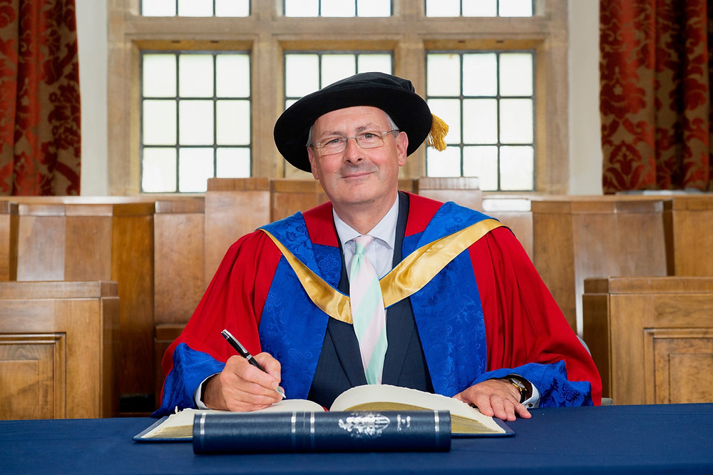 Ashley Herman receives honorary doctorate