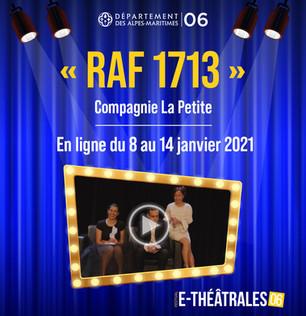 RAF 1713Le 11 décembre 2020 à L'Espace Léonard de Vinci de Mandelieu