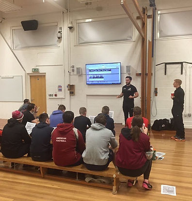 sport science youth workshops and education