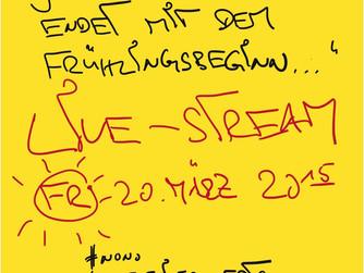 Live-Stream am Freitag!