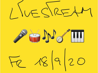 Unser Live-Stream im September!
