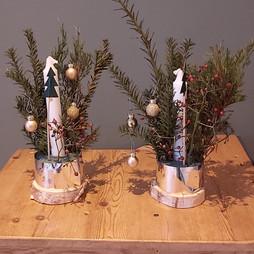Kerststukjes voor thuis