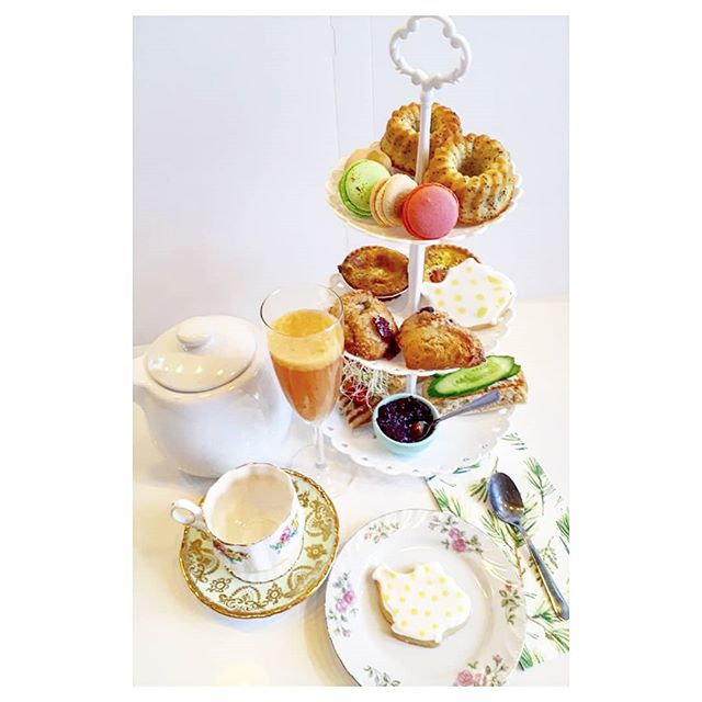 _Le luxe_ high tea__#teatimemtl #hightea
