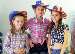 Country themed choreography