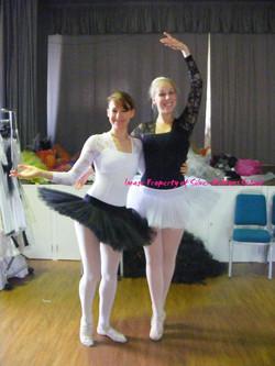 Hayley & Amy: Grown up ballerinas