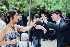 Urbain, magicien en mariage