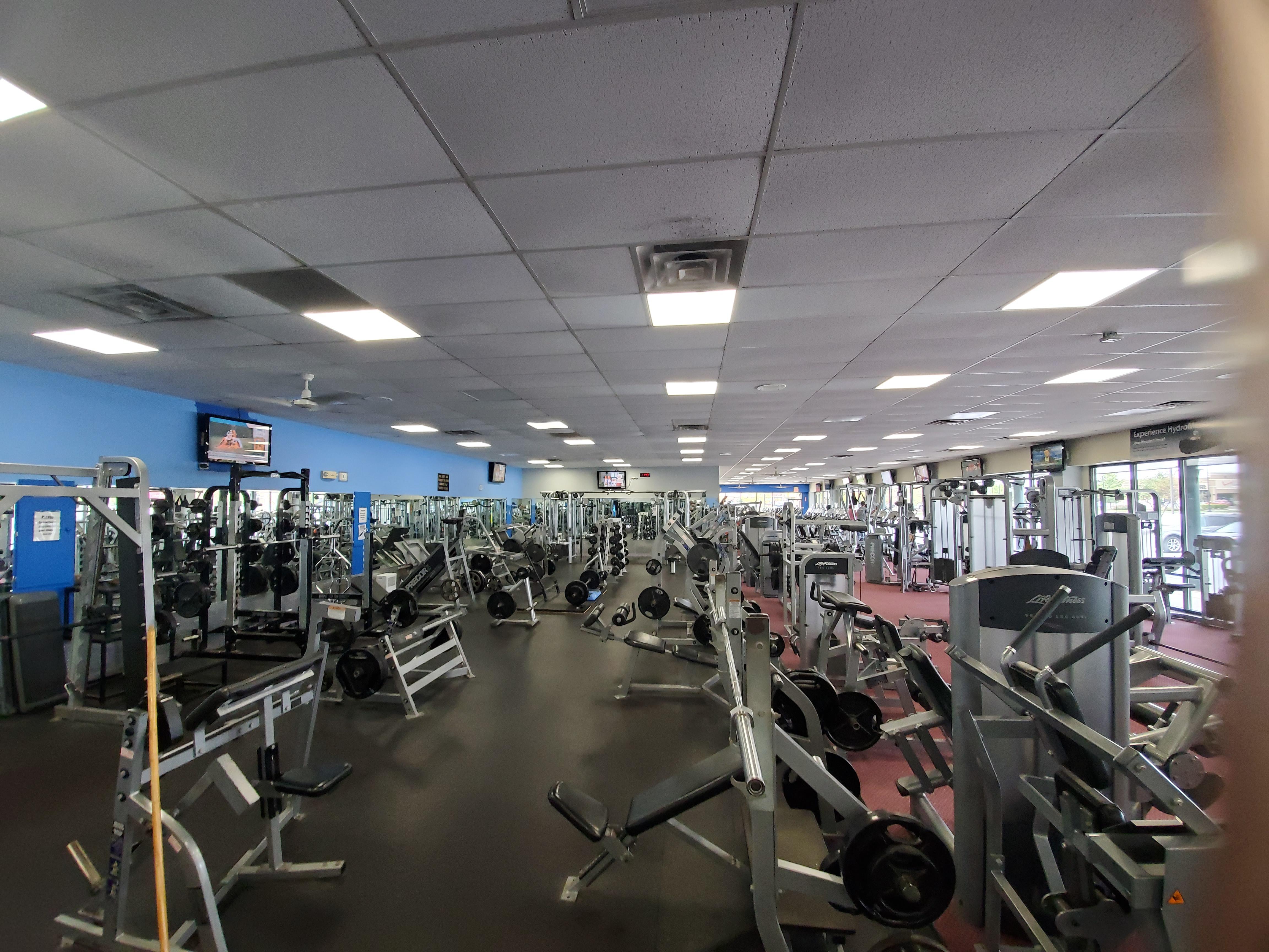 Free Weight Floor