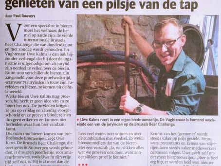 Article in the Brabants Dagblad