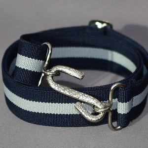 Snake-buckle belt