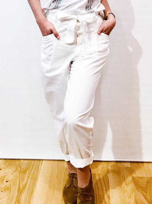 PINKO - Pantalon blanc