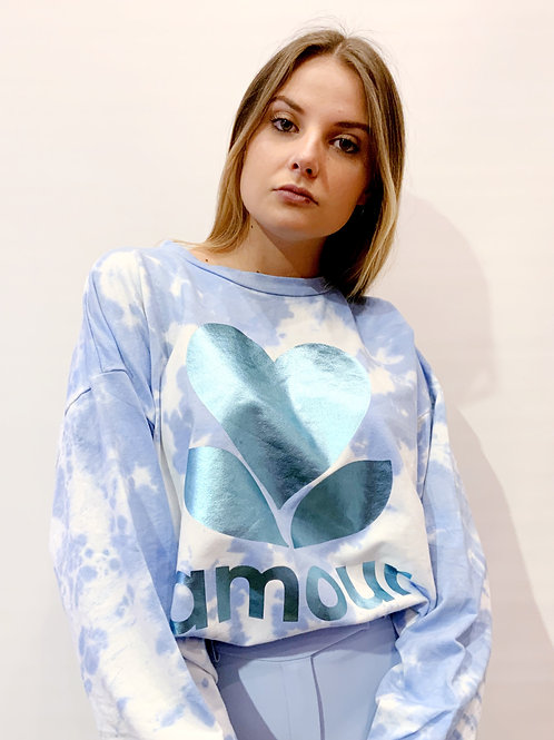 Made In Italie - Sweat Tie&Dye Amour