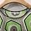 Thumbnail: Carven - Robe T-shirt verte manches courtes