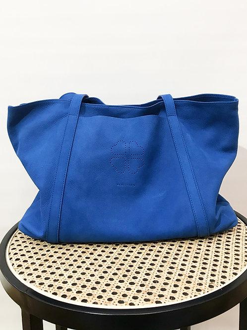 Renouard - Sac daim bleu