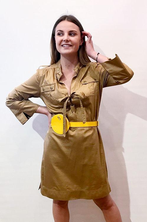 Diane Von Furstenberg - Robe bronze