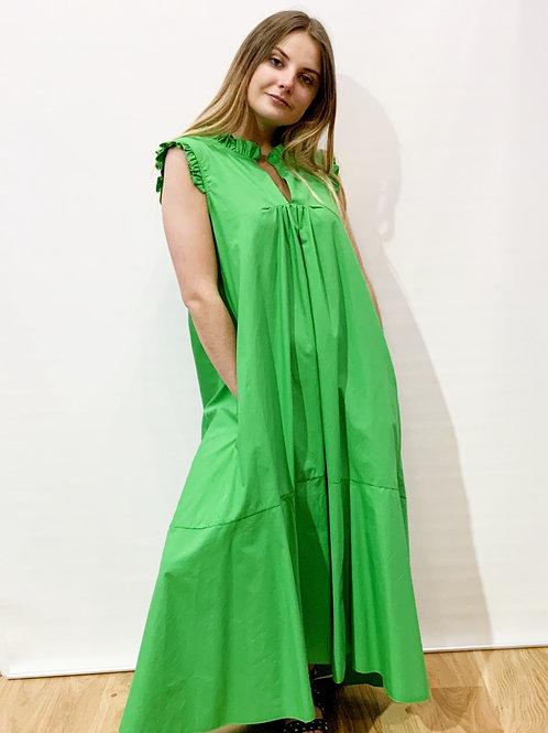 Dixie - Robe longue manches courtes