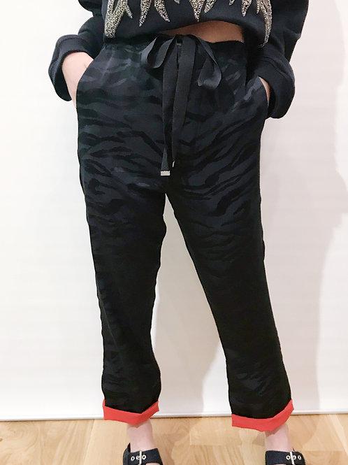 Zadig & Voltaire - Pantalon soie noir