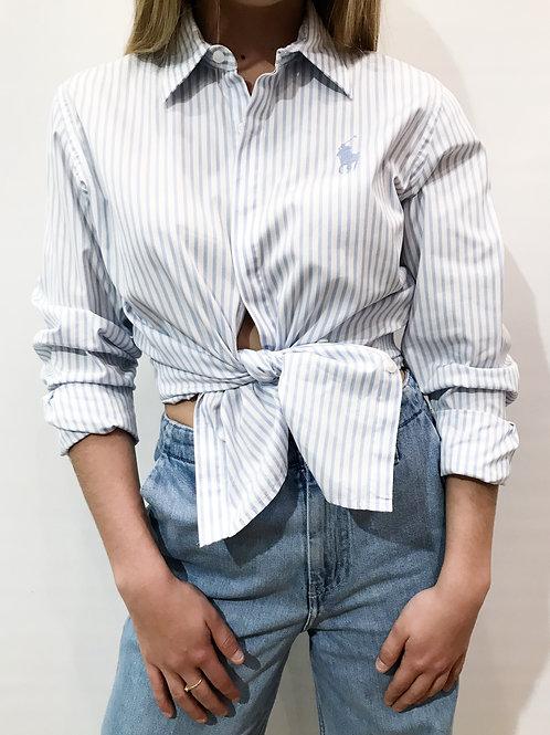 Ralph Lauren -Chemise bleue rayée