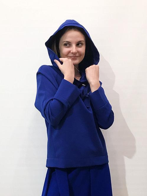 Tara Jarmon - Sweat bleu dur