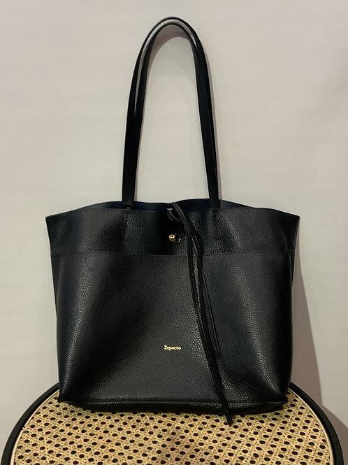 Repetto - Sac cuir noir
