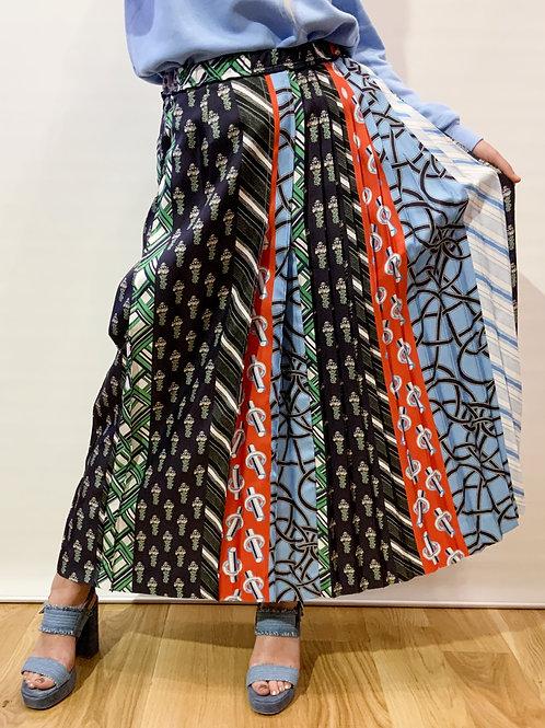 Carven - Jupe plissée imprimée